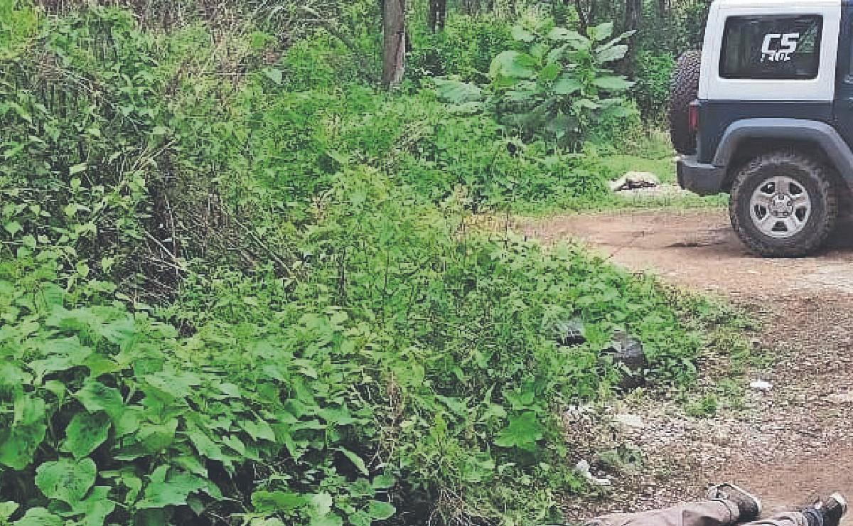 Poblado de Tepoztlán 'revive' como tiradero de cadáveres, así dejaron a un ensangrentado