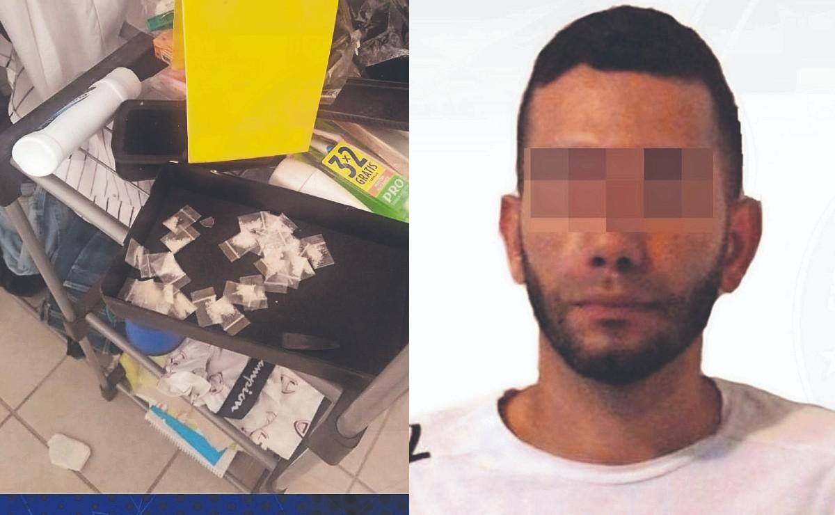 Atoran a dos colombianos con arma larga y dosis de droga, se paseaban en Morelos