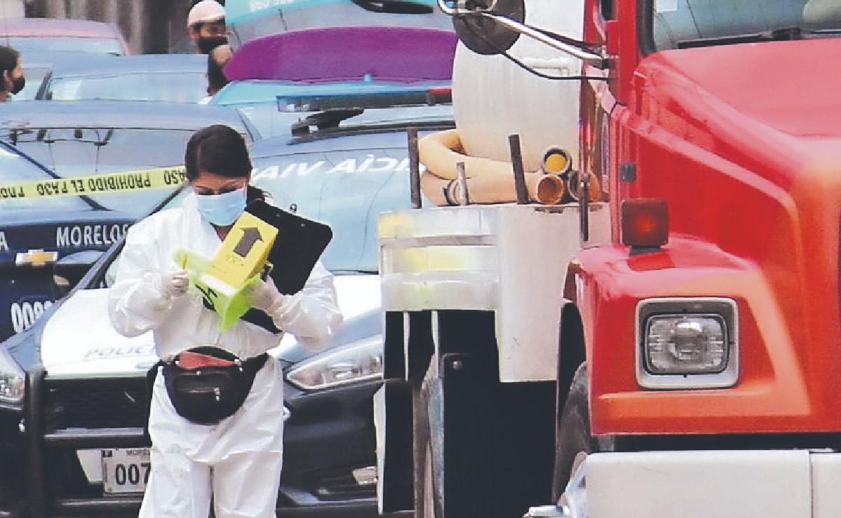 Conductor de una pipa atropella y mata a un hombre en situación de calle, en Morelos