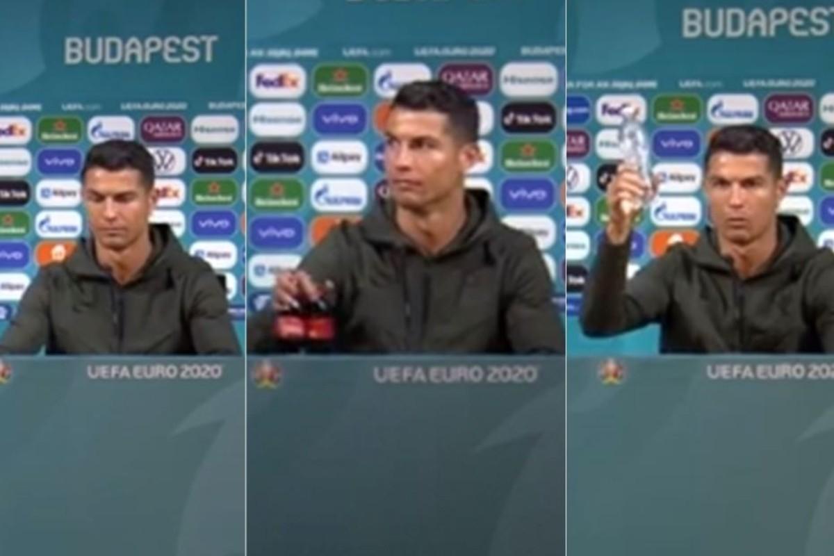 Cristiano Ronaldo hizo perder millones de dólares a Coca Cola