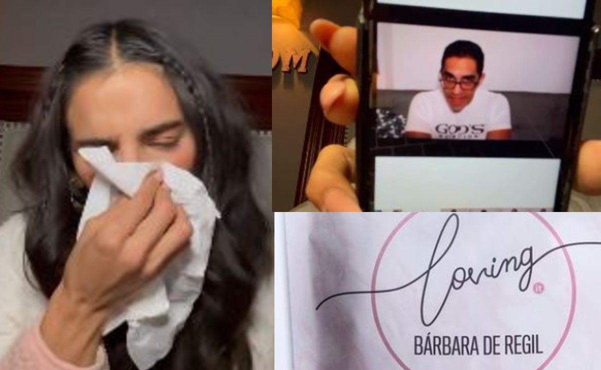 Bárbara de Regil exhibe en video agresiones de nutriólogo y denuncia amenazas de muerte