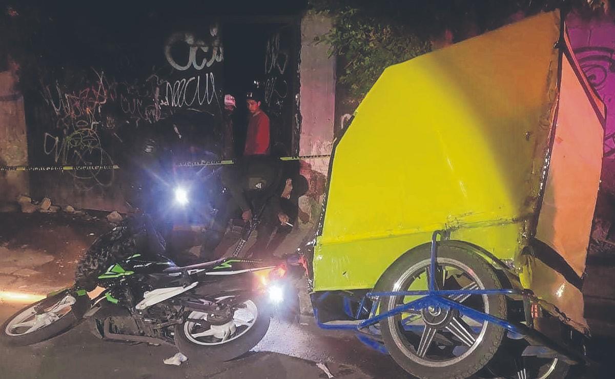 'El Niño de la Santa Muerte' firma amenaza de sangre vs líderes de mototaxistas en Edomex