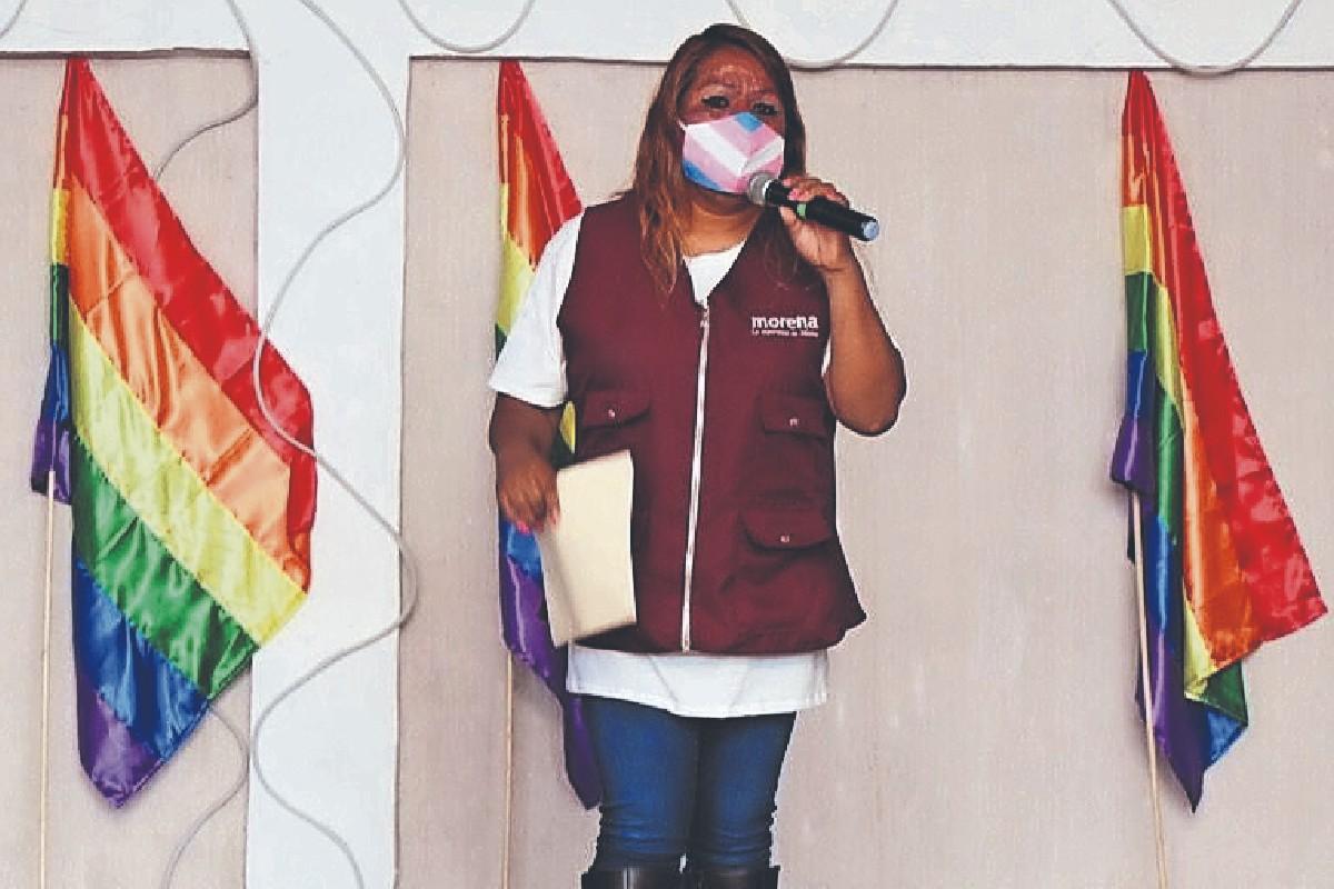 Rosy Carrasco será la primera mujer trans en ocupar un puesto en el cabildo, en Chalco