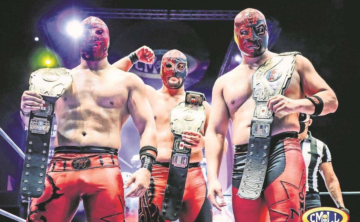Arman reta de peligro para los Dinamita en las tercias del CMLL, en la Arena México