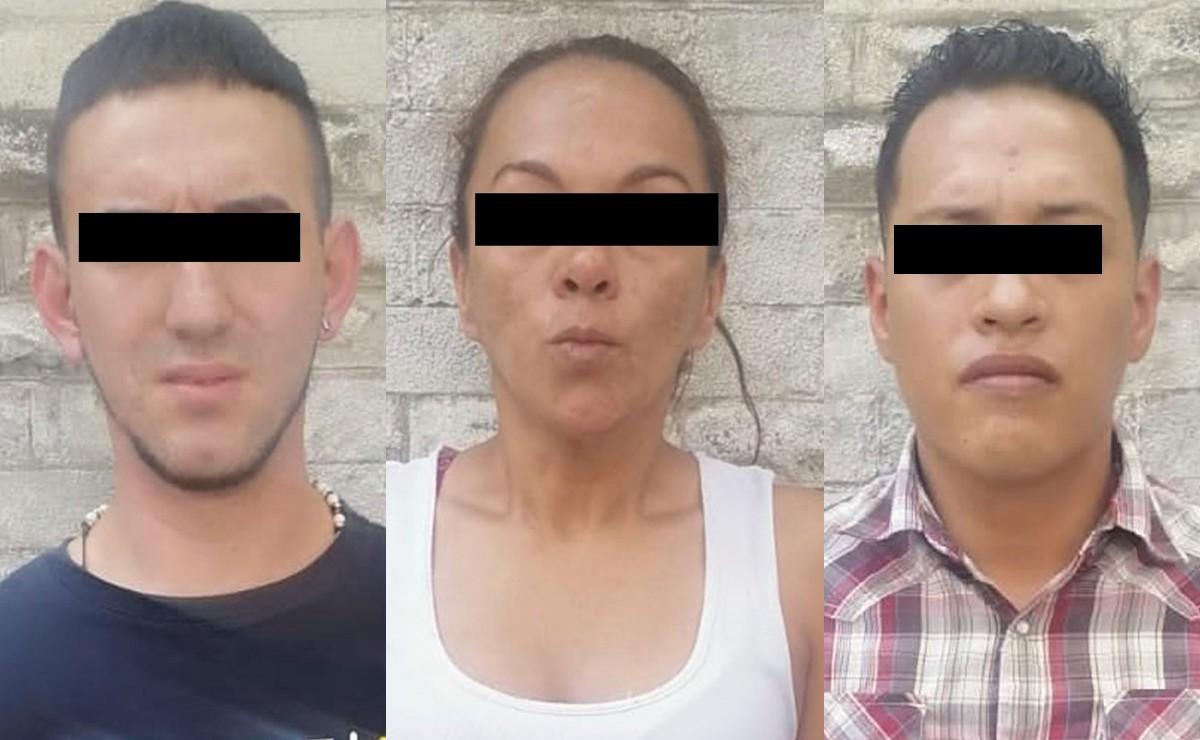Caen dos colombianos y una mexicana, relacionados con drogas y extorsión en la CDMX