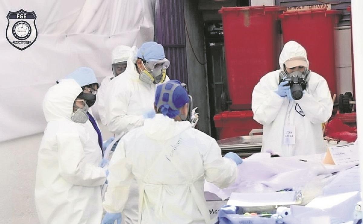 Inhuman cuerpos no identificados en Morelos, serán trasladados al Panteón Ministerial
