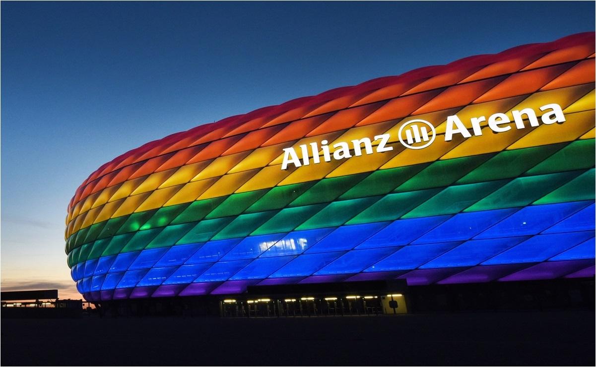 La UEFA rechaza iluminación del Allianz Arena en apoyo a la comunidad LGBT+