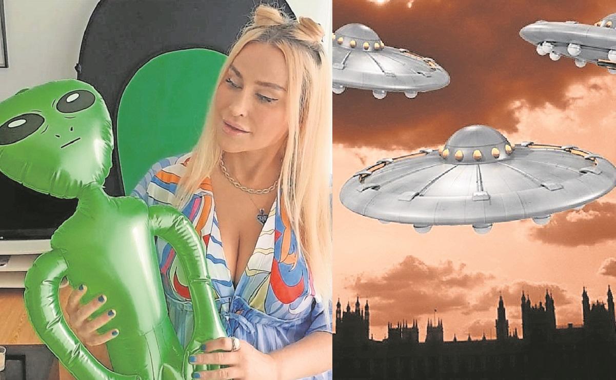 Mujer dice haber sido abducida por extraterrestres y estar enamorada de uno de ellos