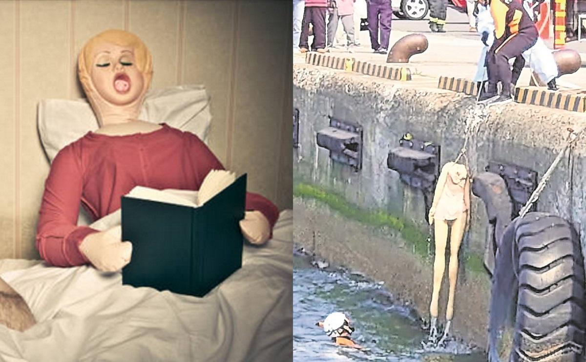 Realizan megaoperativo para rescatar un cuerpo flotando y ¡era una muñeca inflable!