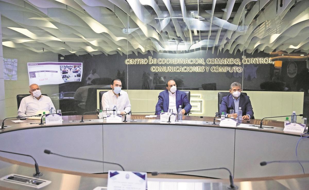 Cuauhtémoc Blanco se reúne con edil electo de Cuernavaca, promete reinstalar seguridad