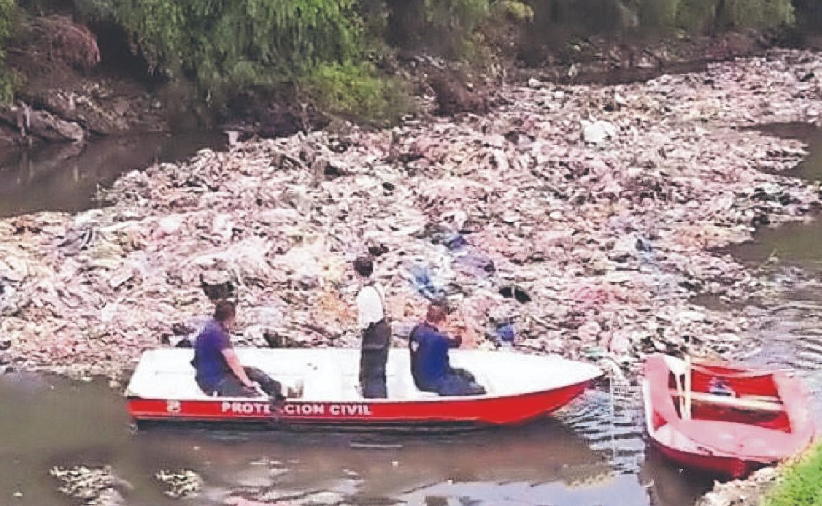 Rescatan cadáver de adolescente que cayó en un canal del Edomex, tenía 5 días desaparecido