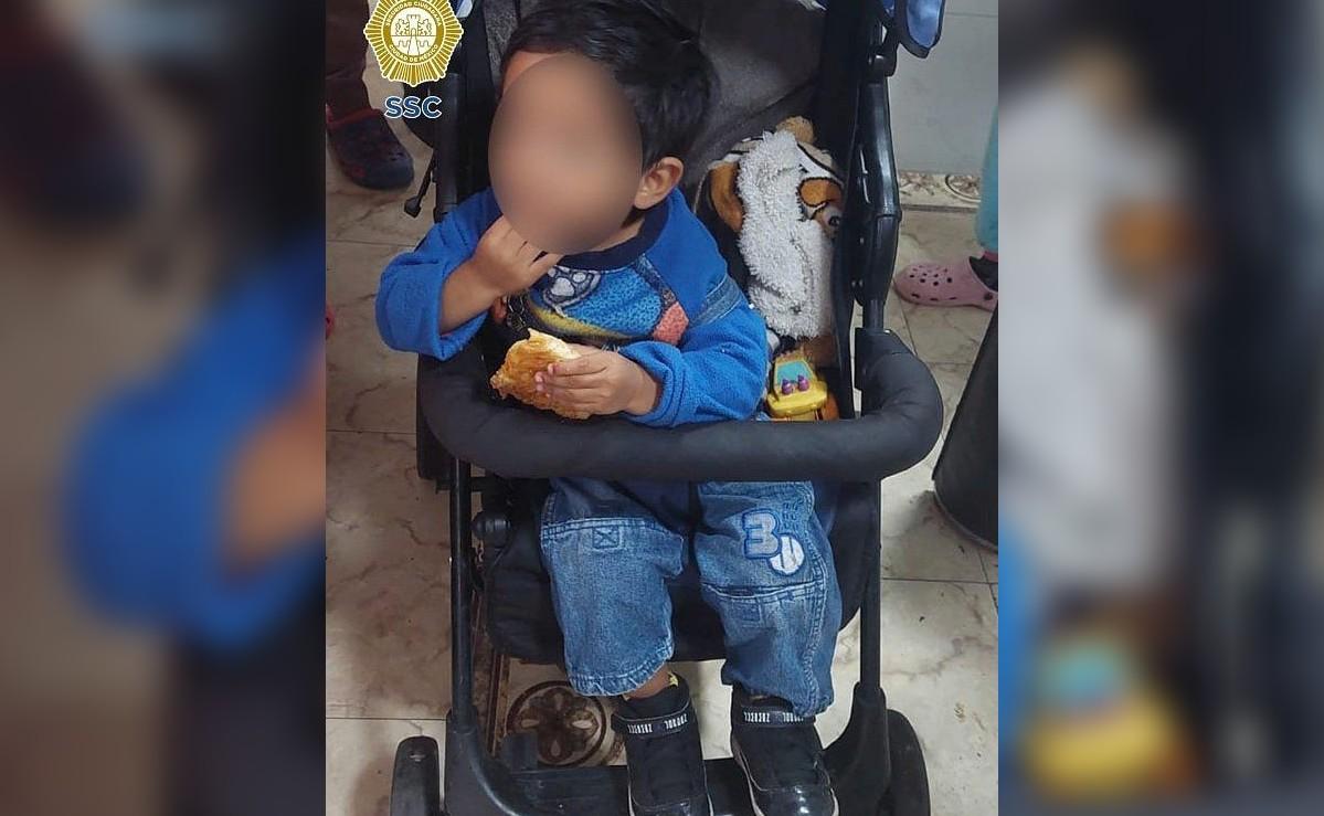 Pareja abandona a nene en una carriola en calles de la colonia Doctores, en CDMX