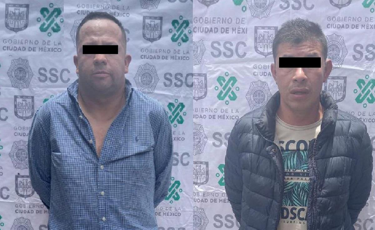 Atoran a dos colombianos por asalto en la Alcaldía Cuauhtémoc