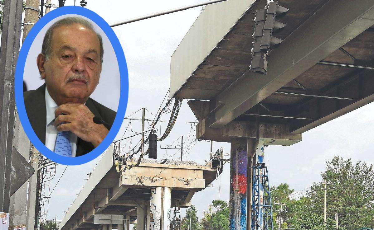 Carlos Slim rehabilitará con sus propios recursos la Línea 12 del Metro de la CDMX