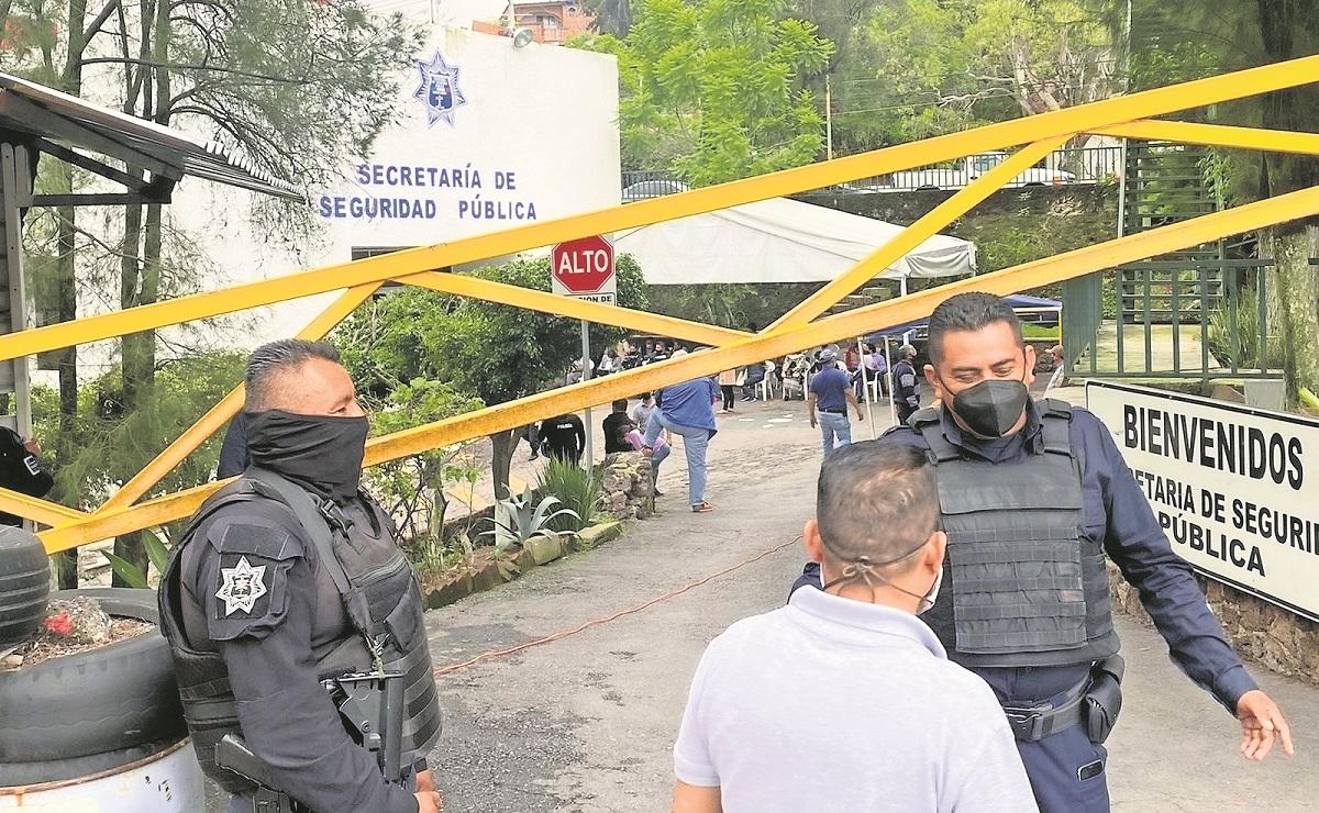 Comienza la vacunación contra Covid a policías preventivos y bomberos en Morelos