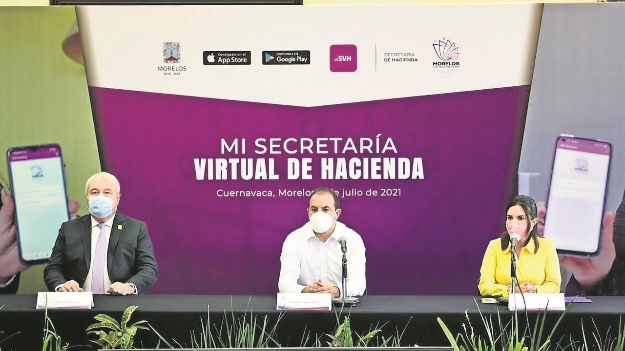 """Autoridades lanzan app """"Mi hacienda virtual"""" para pagar impuestos en Morelos"""