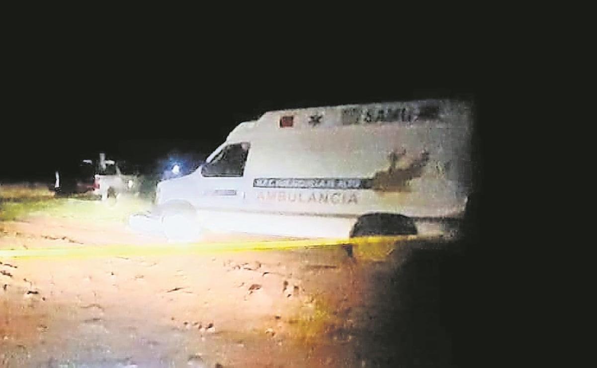 Paramédicos trasladan a paciente de Jalisco a Zacatecas y los asesinan