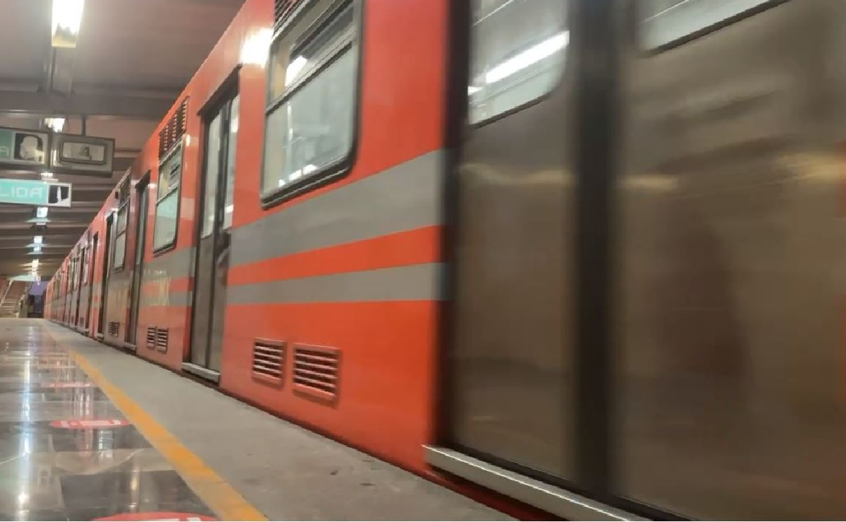 Suspenden dos Líneas del Metro por fuertes lluvias en la Ciudad de México