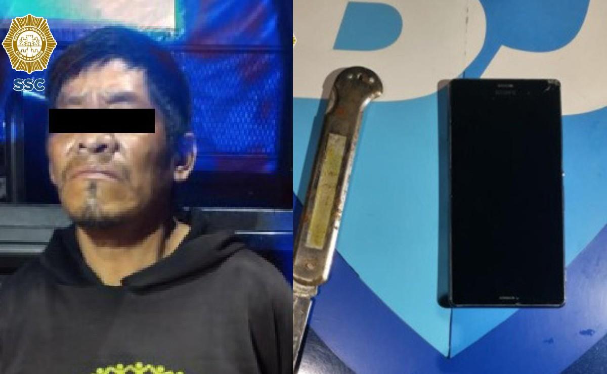Atoran a un asaltante de transeúntes en la Benito Juárez, ya había estado en la cárcel