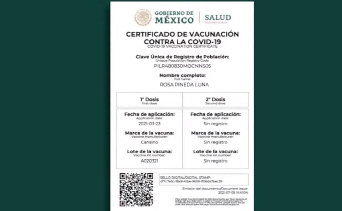 Cómo obtengo mi certificado de vacunación Covid-19, aquí el proceso paso a paso