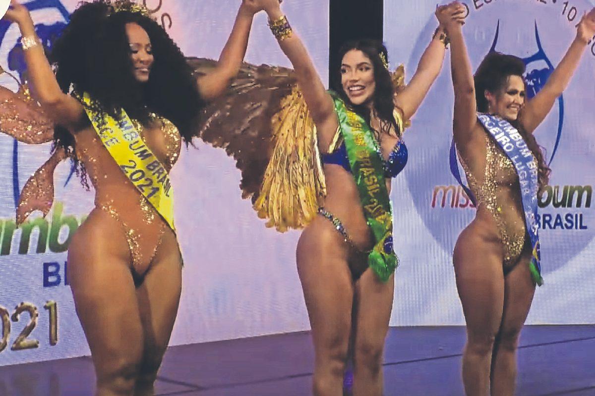 "Ella es Lunna Leblanc, la sensual modelo ganadora de ""Miss Bumbum 2021"""