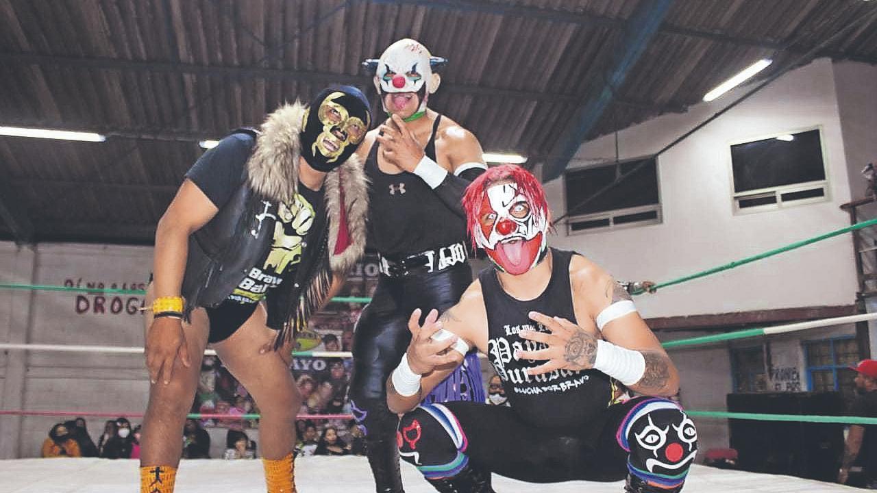 Luchadores de Tepito se imponen a los de Nezahualcóyotl