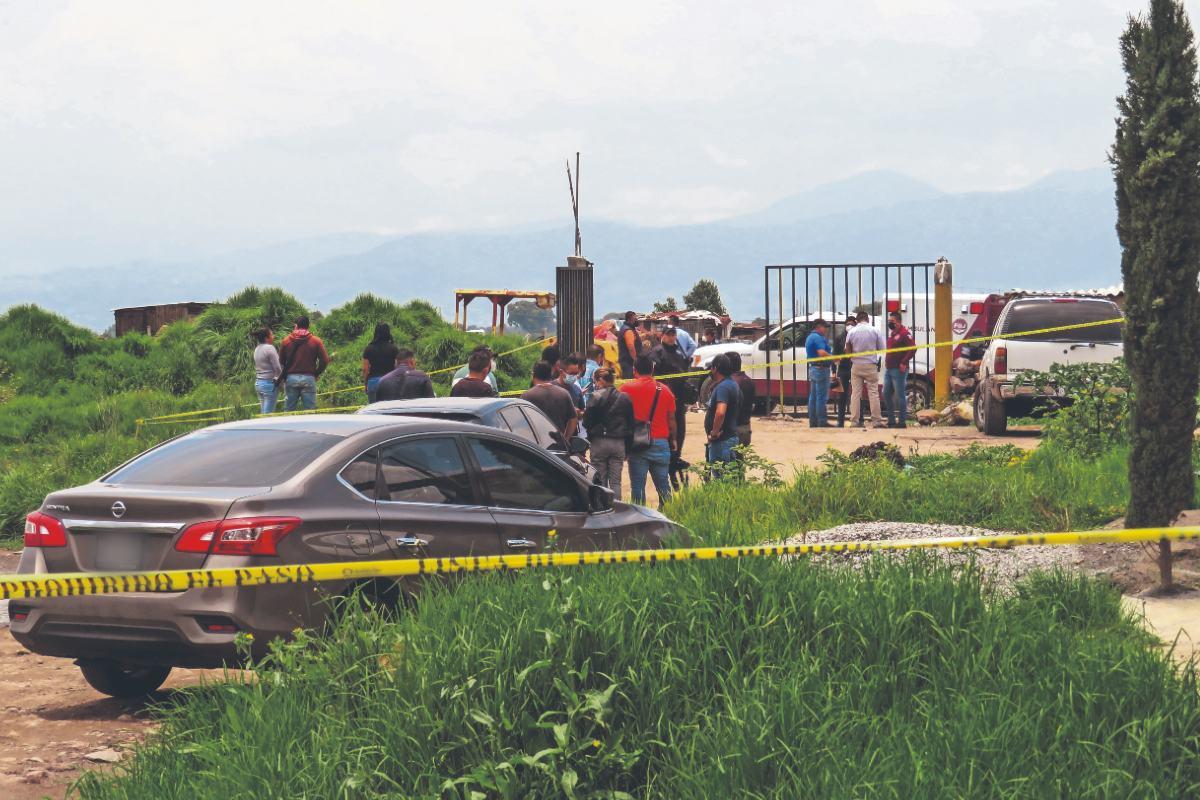 Por la disputa de terrenos, asesinan a cinco integrantes de una familia en el Edomex