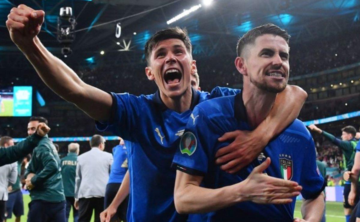 Italia es finalista de la Eurocopa, eliminó a España en penaltis