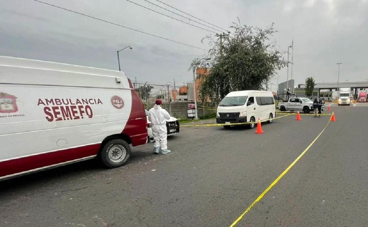 Asaltantes matan a militar de la Sedena en pleno asalto a transporte público en Edomex