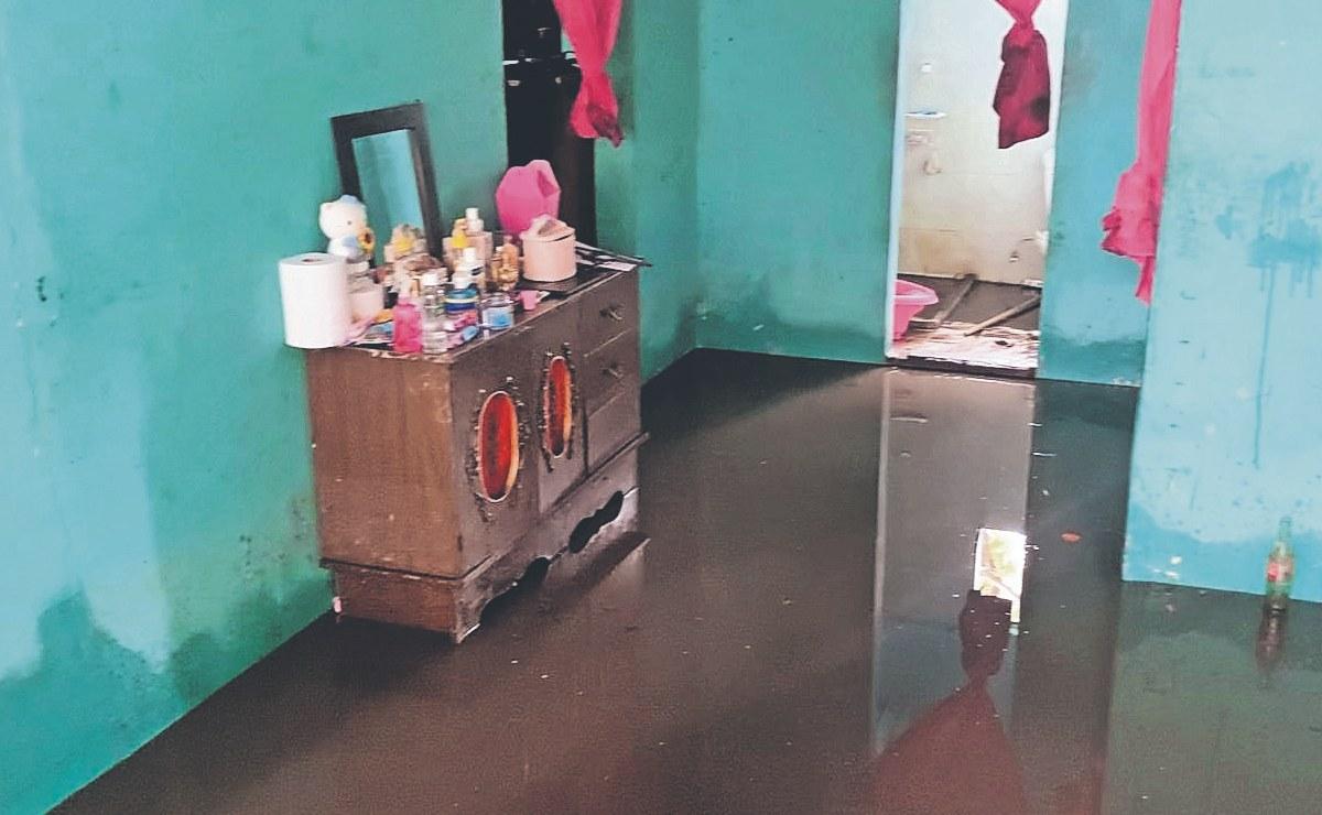 Protección Civil revela porqué se inundó Cuautla tras lluvias: por basura tirada en las calles