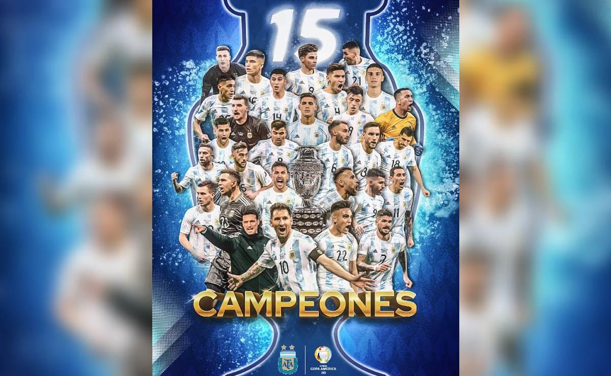 Luego de 28 años, Argentina es el nuevo campeón en la Copa América tras aplastar a Brasil
