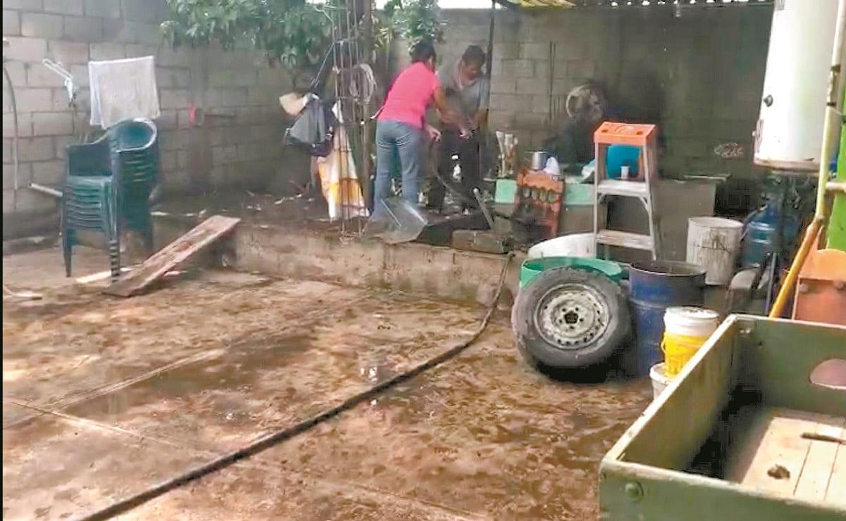 Vecinos de Cuautla y Yautepec reportan ausencia de autoridades, tras afectaciones por lluvia
