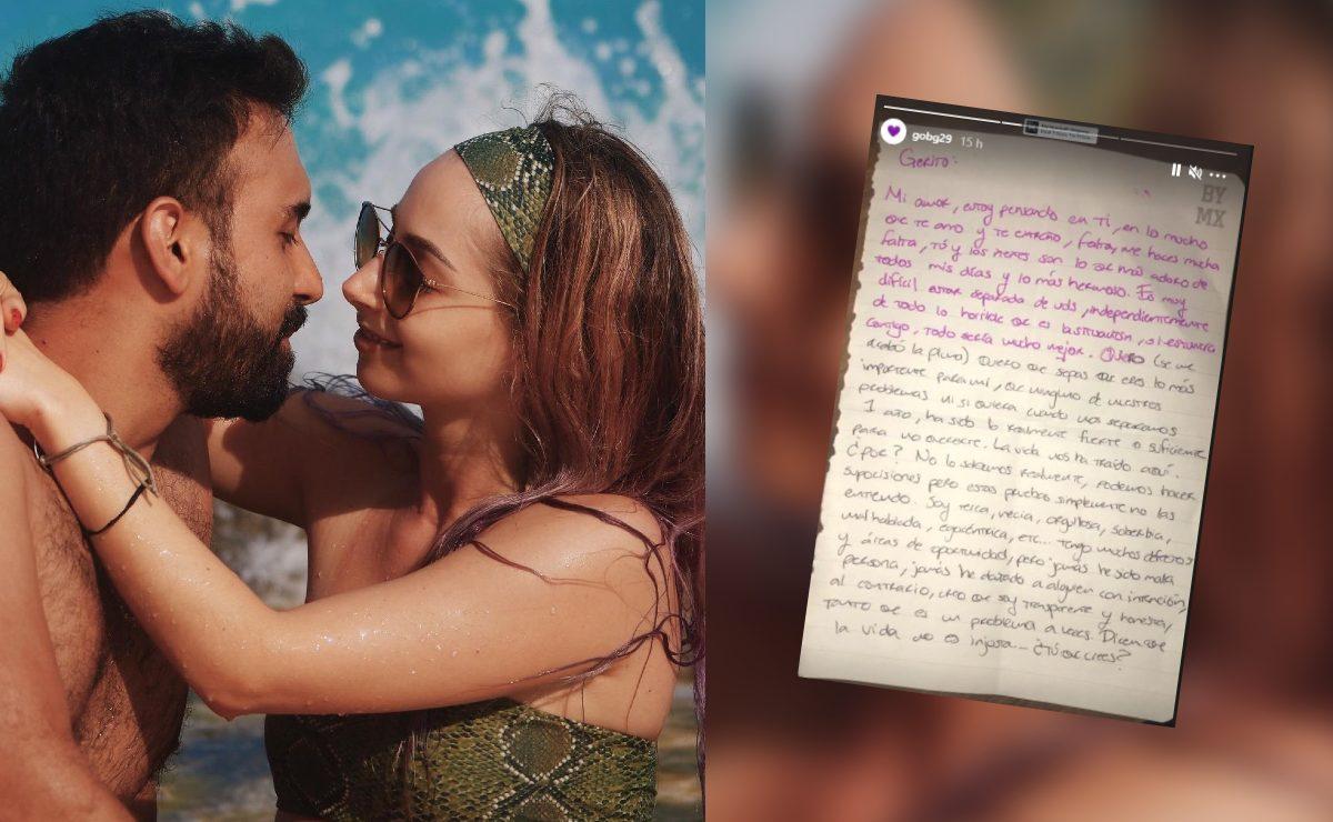 """""""Jamás he sido mala persona"""", la carta que YosStop le escribió a su novio desde prisión"""