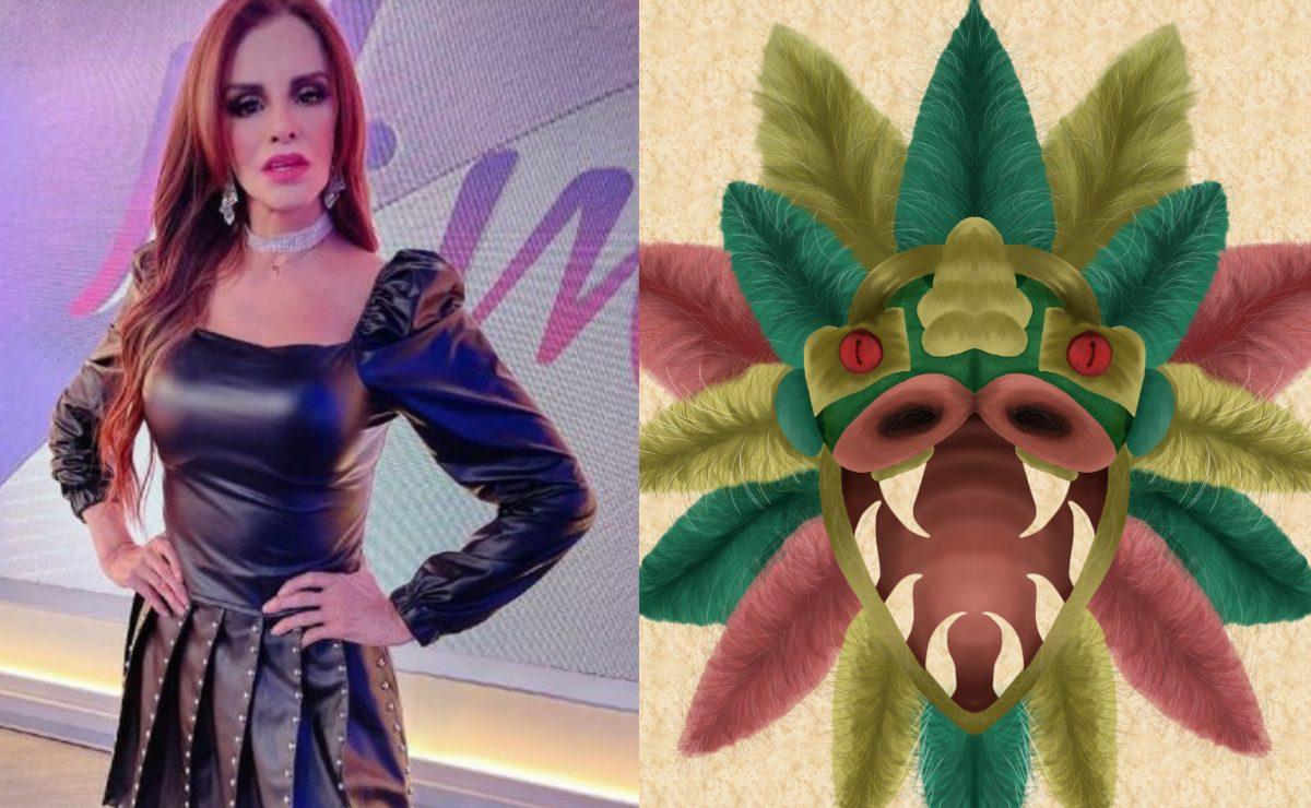 Lucía Méndez asegura que en una ocasión tuvo un encuentro con Quetzalcóatl