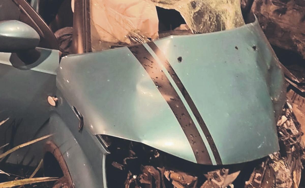 Por evitar charco, automovilista muere al chocar contra otro en el Periférico