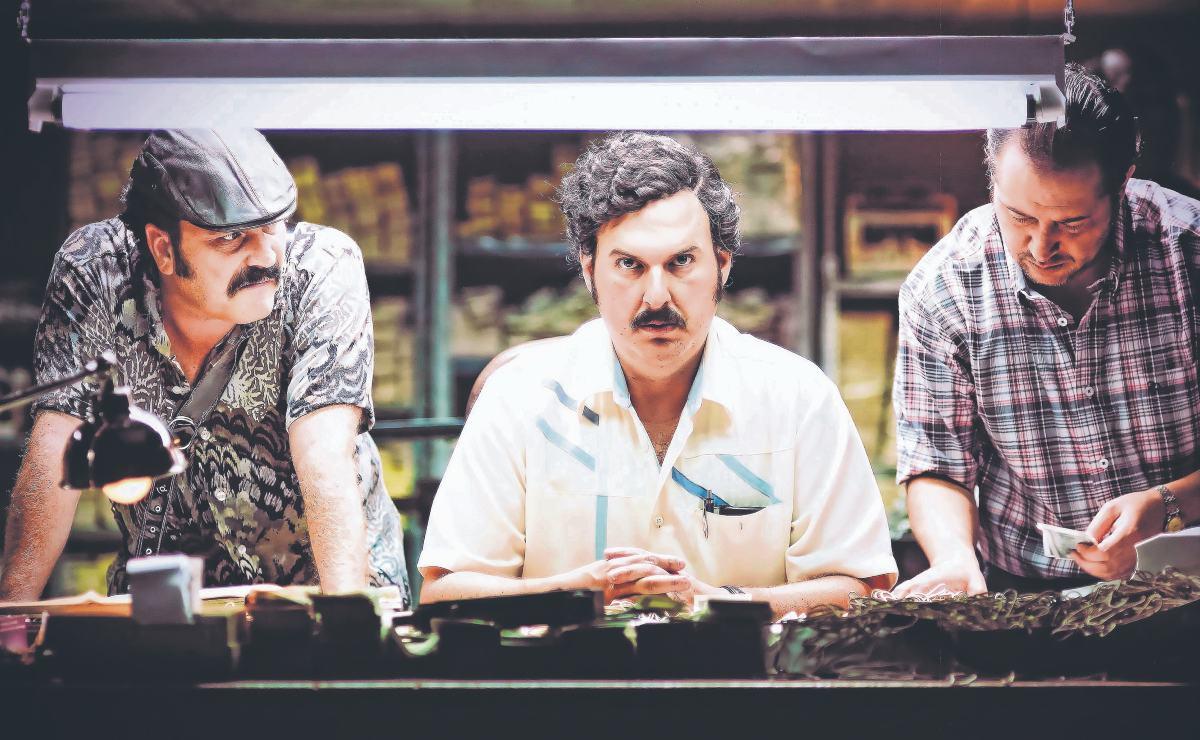 """""""La gente se identifica con cártel de Medellín"""", dicen actores de serie de Pablo Escobar"""