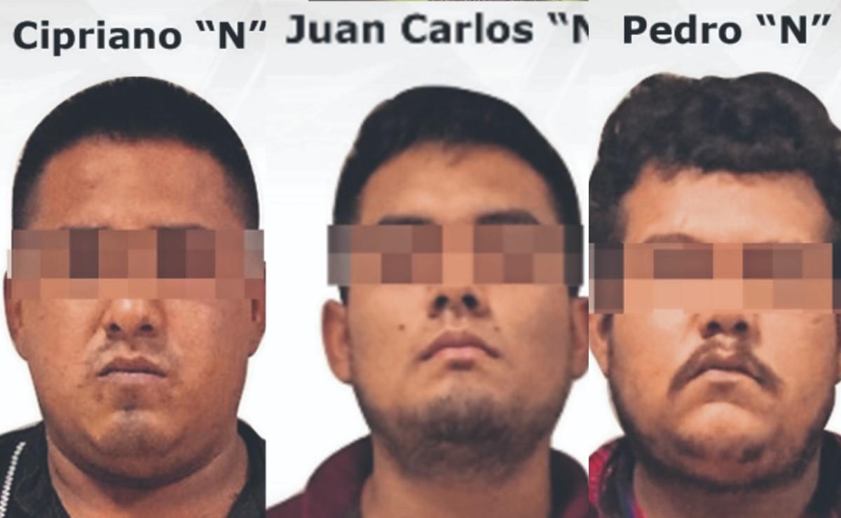 Atoran a trío por el asesinato de un hombre que estaba con su novia, en Morelos