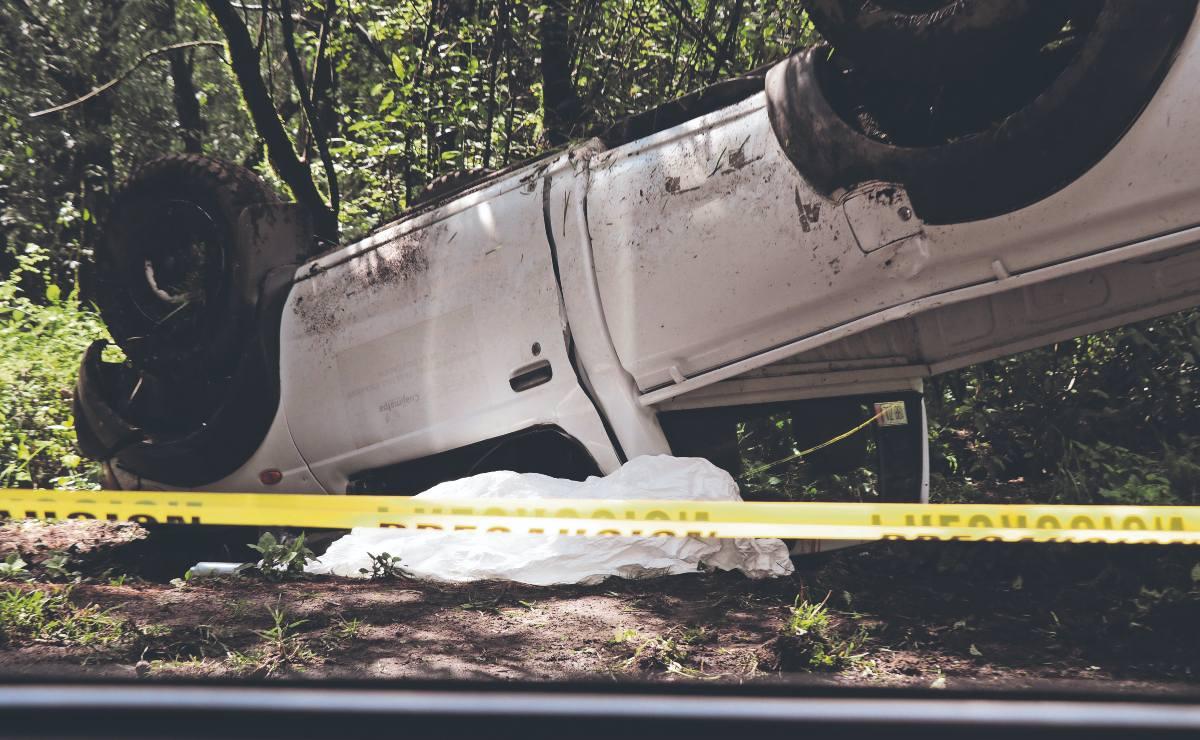 Guardabosques de Cuajimalpa muere aplastado por su propia camioneta de trabajo