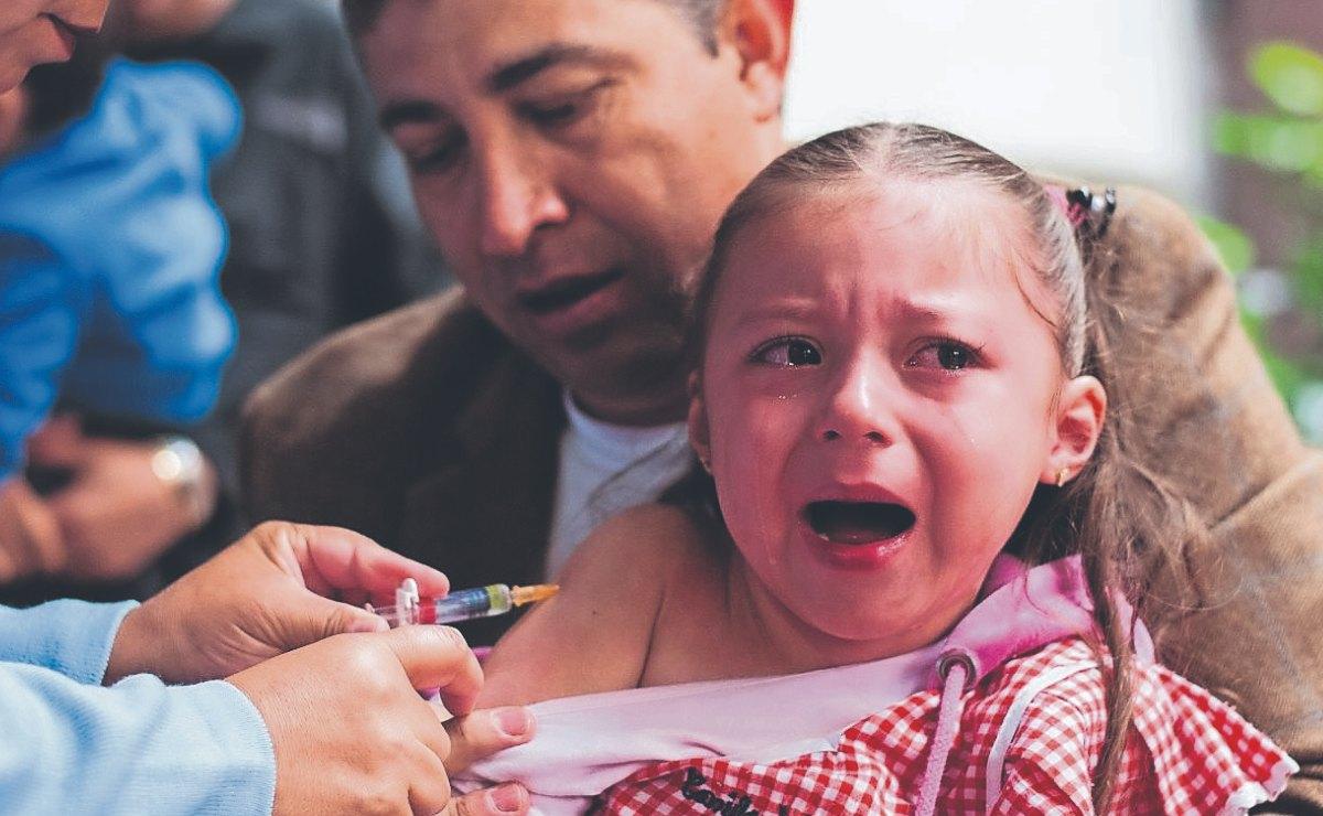 Invitan a papás a completar el esquema de vacunación de niños de 0 a 8 años, en Morelos