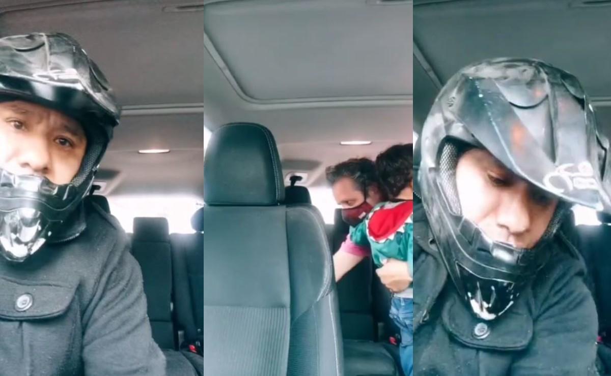 Víctima graba en vivo a su asaltante que además intentó secuestrar a su hijo, en la CDMX