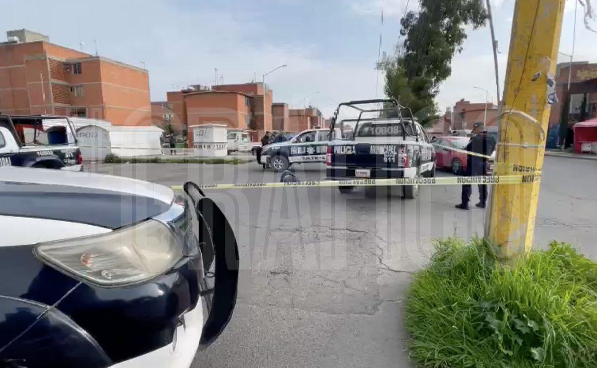 Asaltante se sube a transporte público en Edomex y encuentra la muerte a manos de pasajero