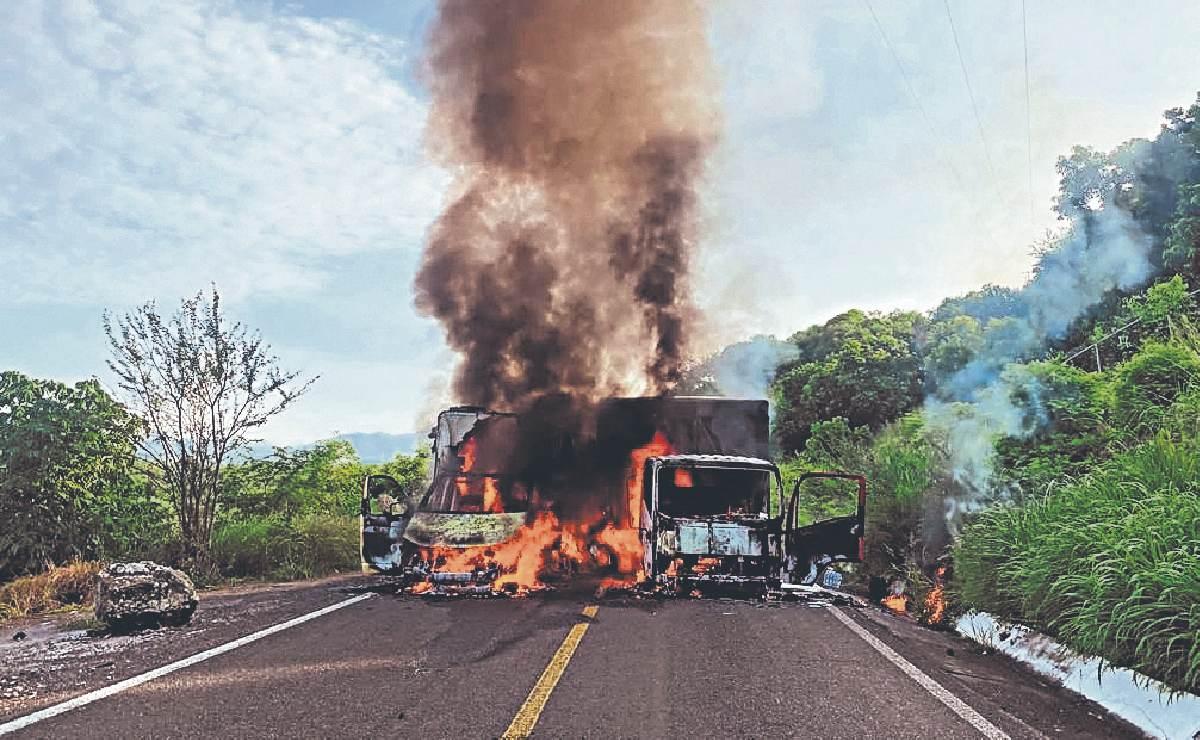 """Desaparece """"El Kiro"""" e integrantes del CJNG desatan el terror en carreteras de Michoacán"""