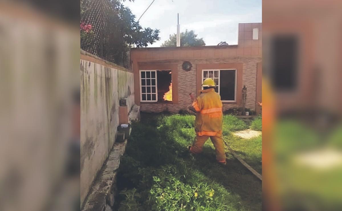 Intenta controlar fuga de gas sin conocer del tema y termina en el hospital, en Morelos