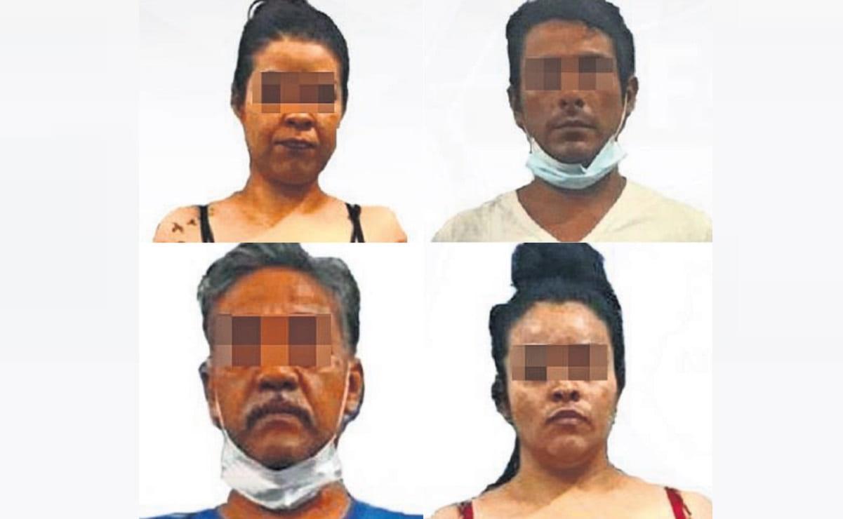 Detienen a 4 personas por posesión de drogas durante un cateo, en Morelos