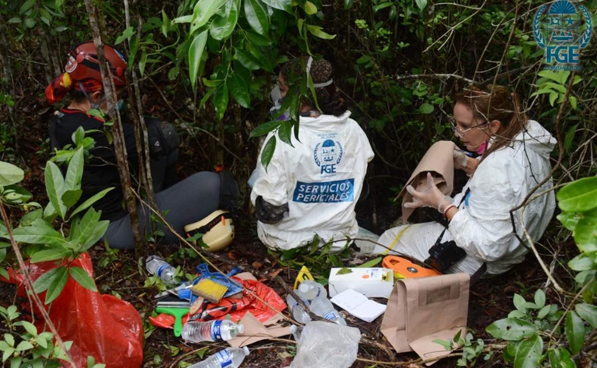Hallan restos humanos en tres puntos distintos de una zona selvática de Quintana Roo