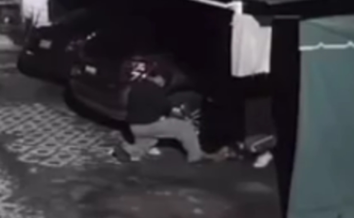 Video revela modus operandi de ladrones de llantas y autopartes dentro de casas en Morelos