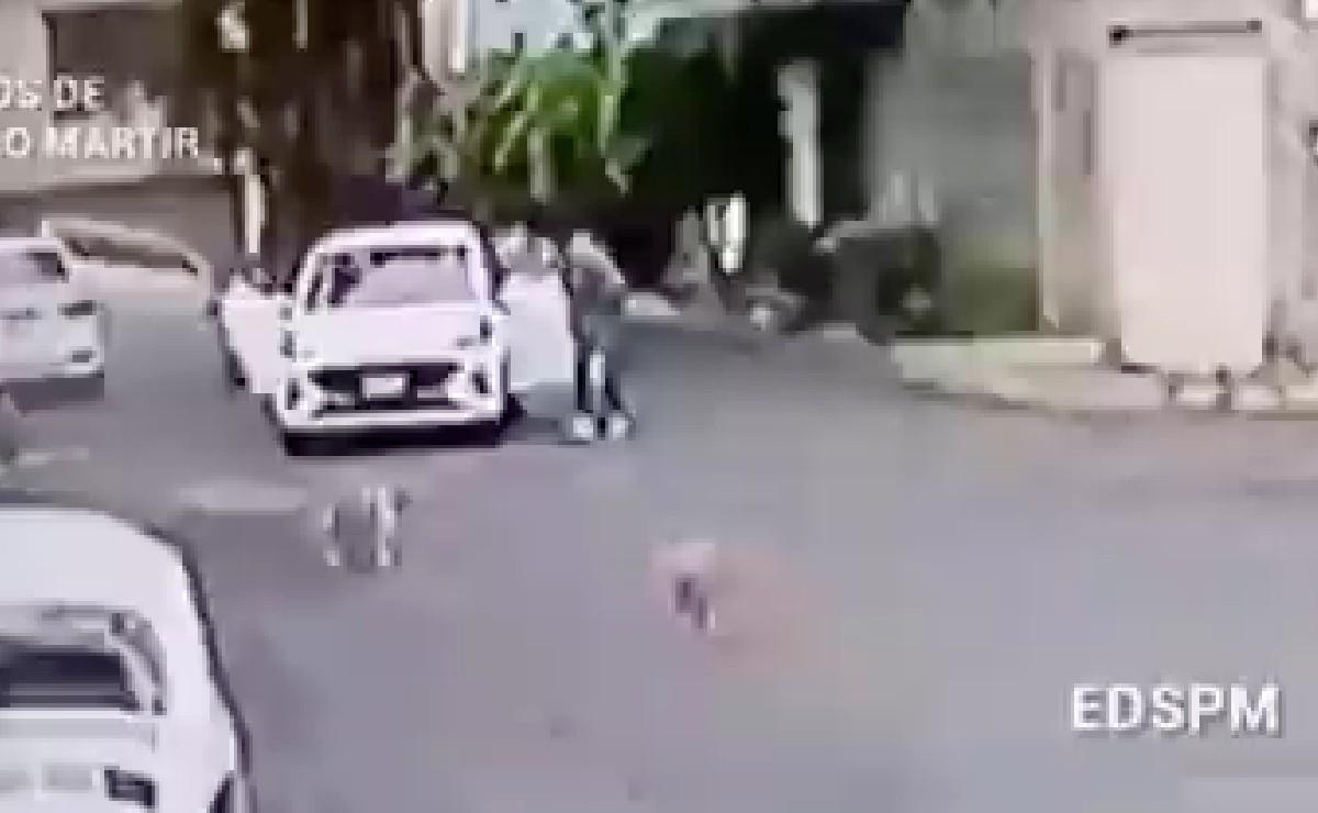 Chofer de Beat pide ayuda con un balazo en la cara tras intento de asalto, en Tlalpan