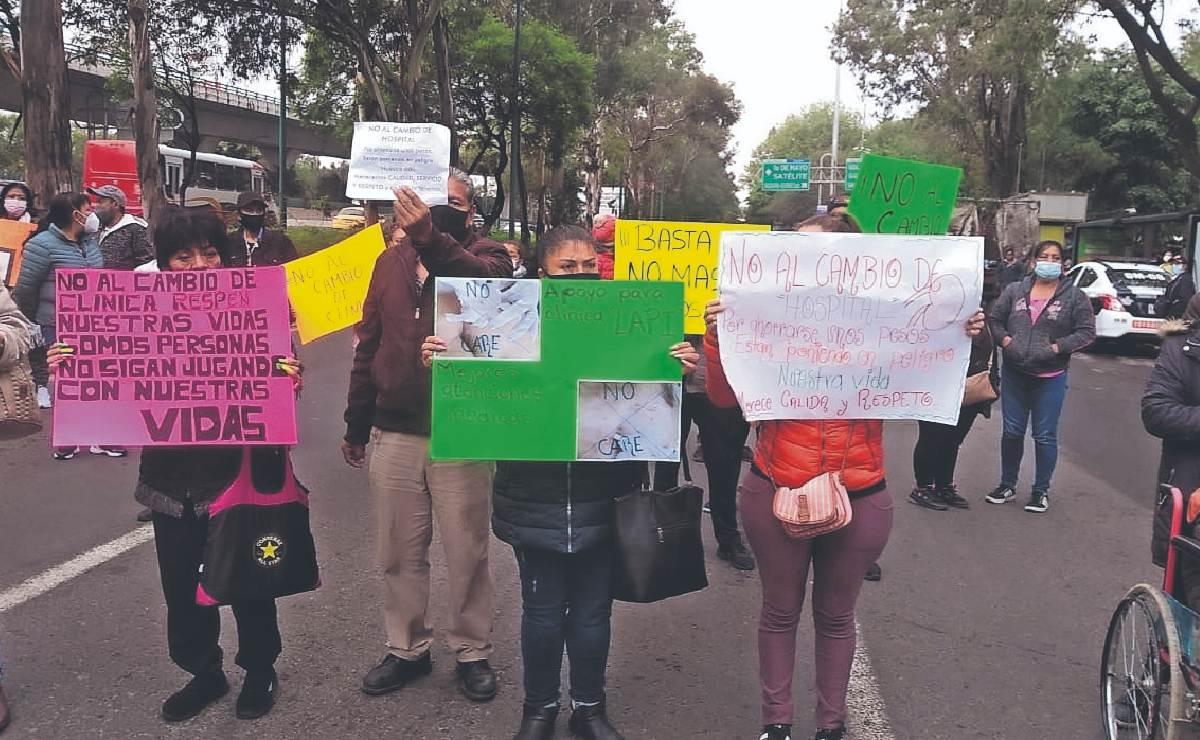 Pacientes rechazan cambio de lugar para hemodiálisis, en Tlalnepantla