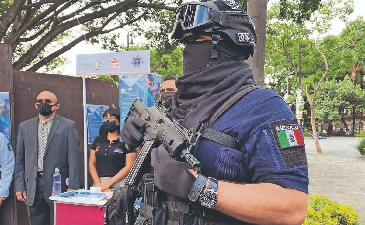 Policía de Cuernavaca abre convocatoria y ofrece 12 mil pesos para nuevos oficiales