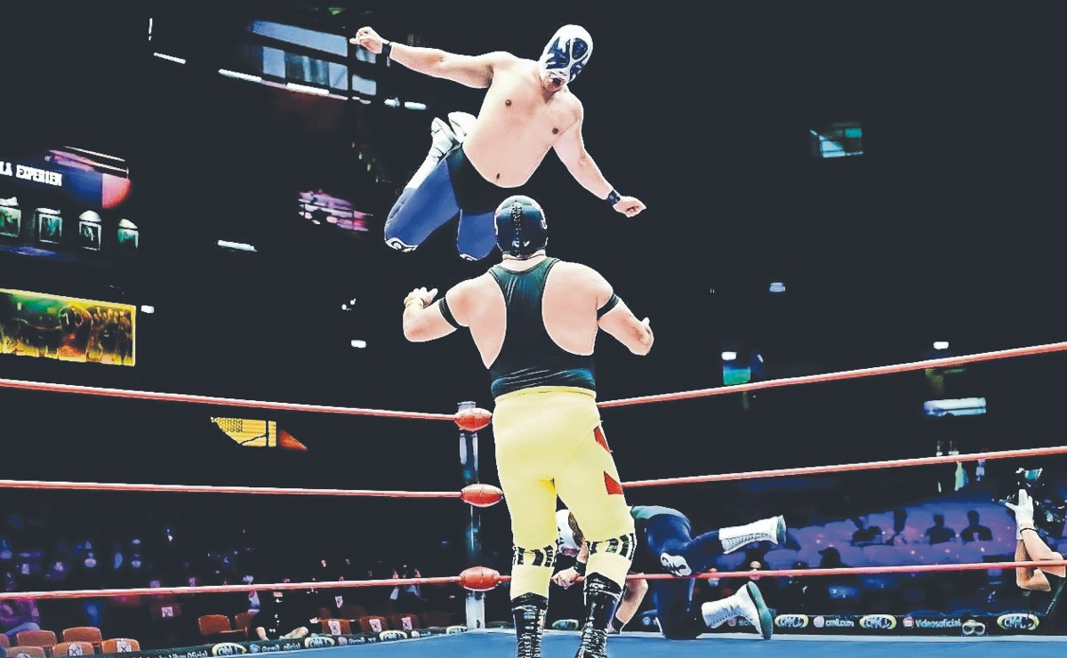 El Gran Guerrero quiere arruinar la fiesta de Atlantis en la Arena México
